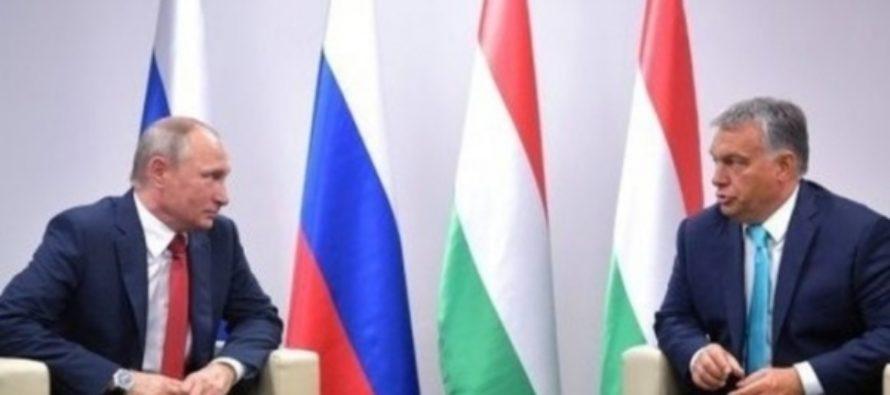 Путин пообещал премьеру Венгрии теоретическое занятие по дзюдо