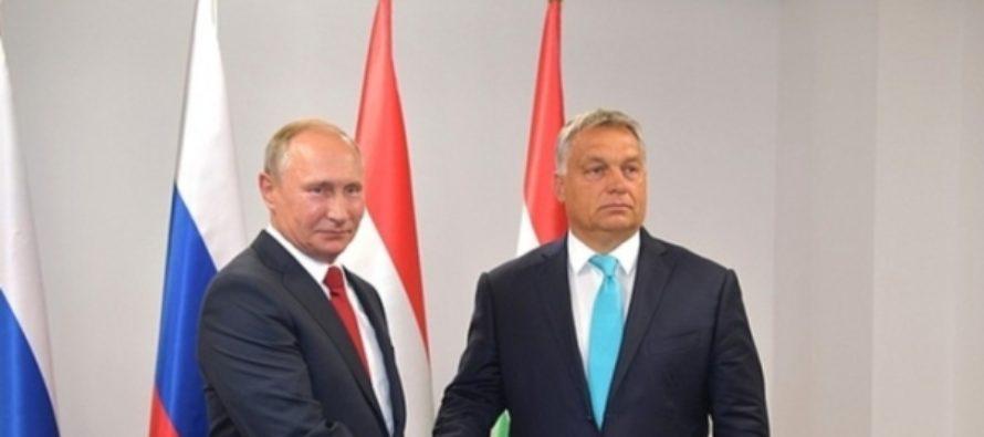 Путин пообещал рассказать венгерскому премьеру «теорию дзюдо»