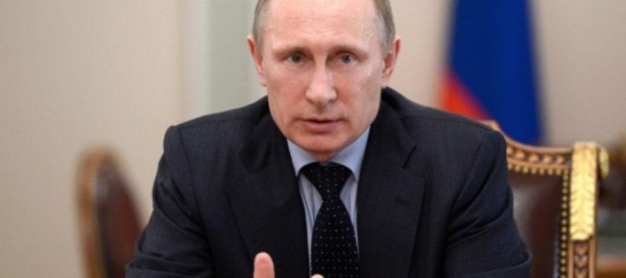 Путин заявил о снижении расходов на оборону в 2018 году