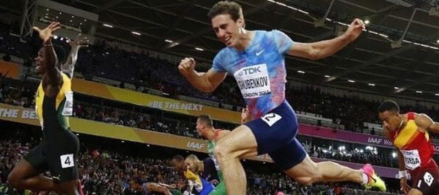 Смотрим, как Сергей Шубенков выиграл серебро чемпионата мира в Лондоне