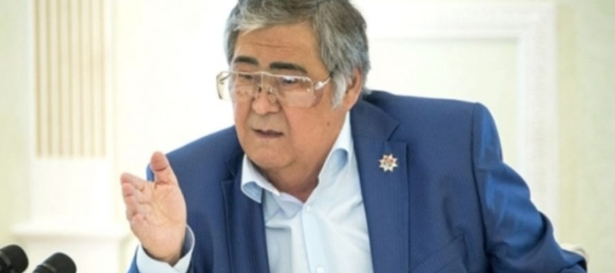 Аман Тулеев вернулся в Кузбасс после реабилитации в Москве