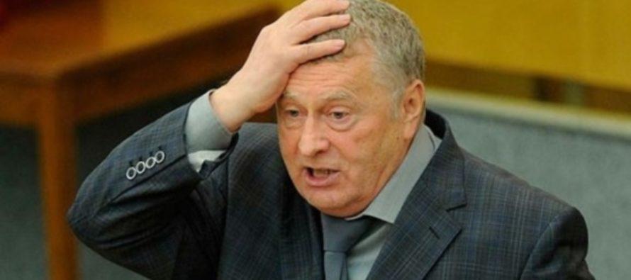 Жириновский ответил на обвинения Украины в помощи террористам