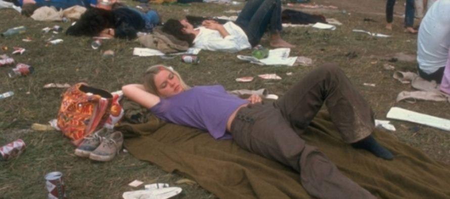 Конец «эры хиппи» и начало сексуальной революции: фото «Вудстока» 1969 года