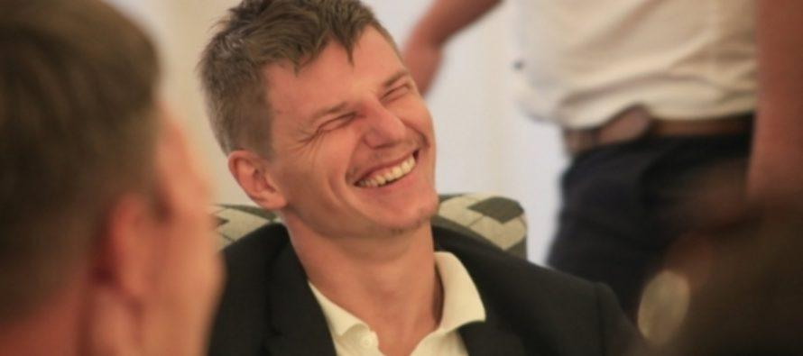 Слуцкий: «Мы любили шутить, что Аршавин устает во время исполнения гимна»