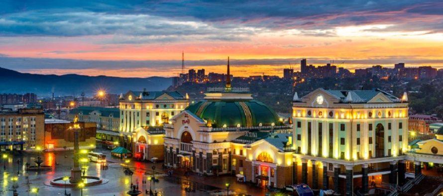Лучшие города Сибири: Красноярск