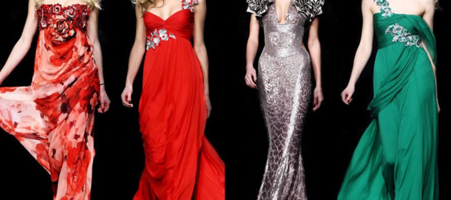 Каких фасонов бывают вечерние платья?