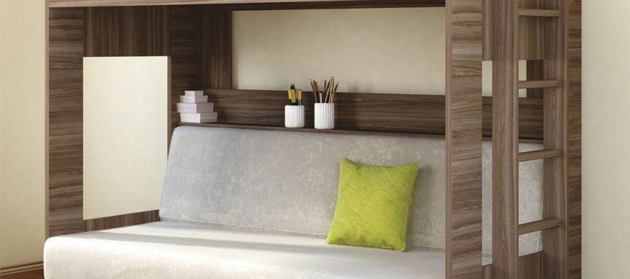 Преимущества современных двухъярусных кроватей