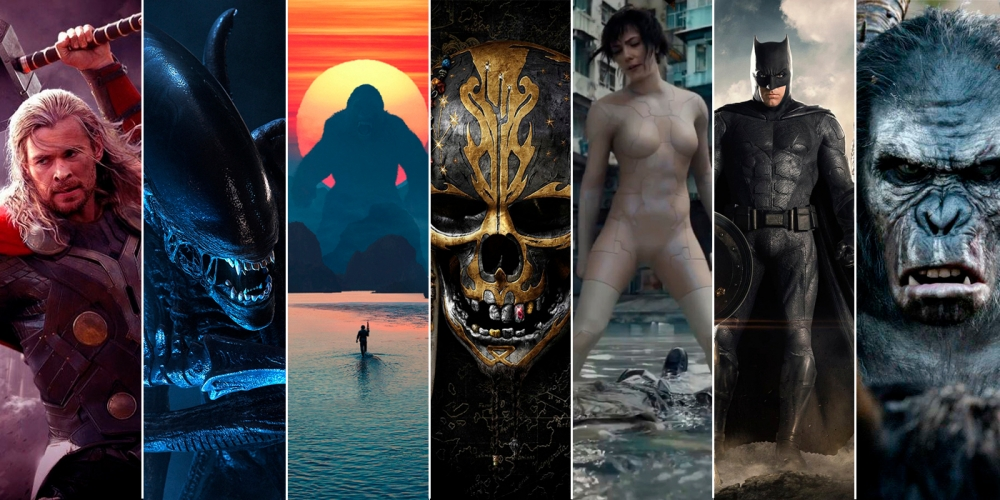 Трейлеры на новые фильмы 2017 года