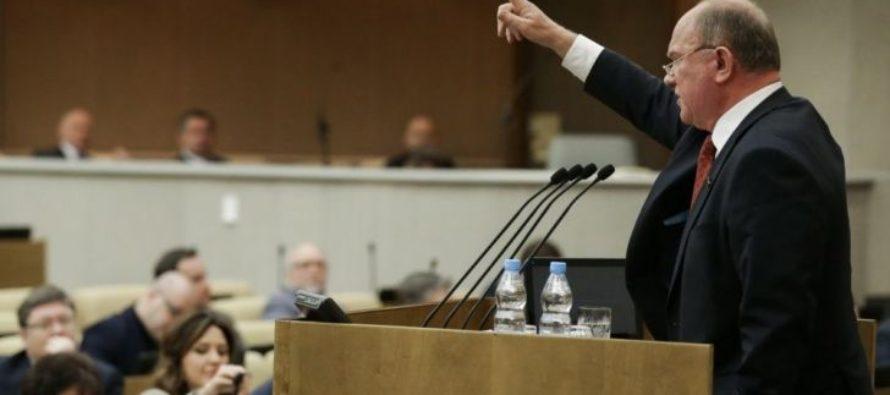Зюганов отказался извиняться перед Кадыровым