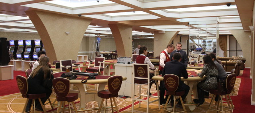 В казино Altai Palace снимают эпизод комедии с Гошей Куценко