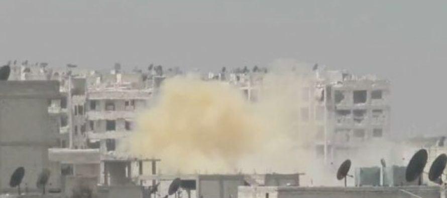 Российские журналисты и военнослужащие попали под обстрел в Сирии