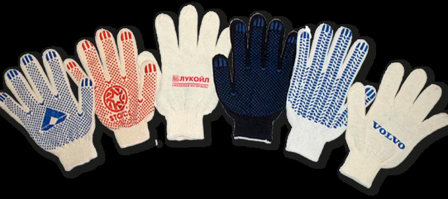 Особенности покрытия ПВХ для ХБ перчаток
