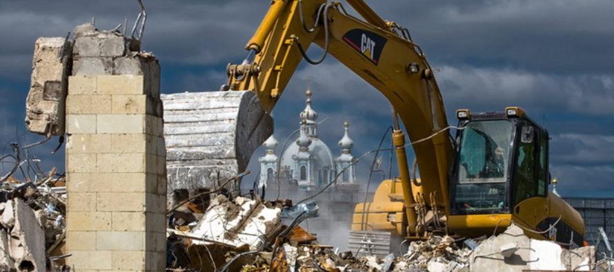 Современные методы демонтажа зданий и сооружений