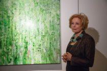 Герхард Шредер и Михаил Швыдкой открыли выставку американской художницы в Петербурге