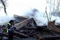 В Алтайском крае трое мужчин в масках ограбили и сожгли дом фермера
