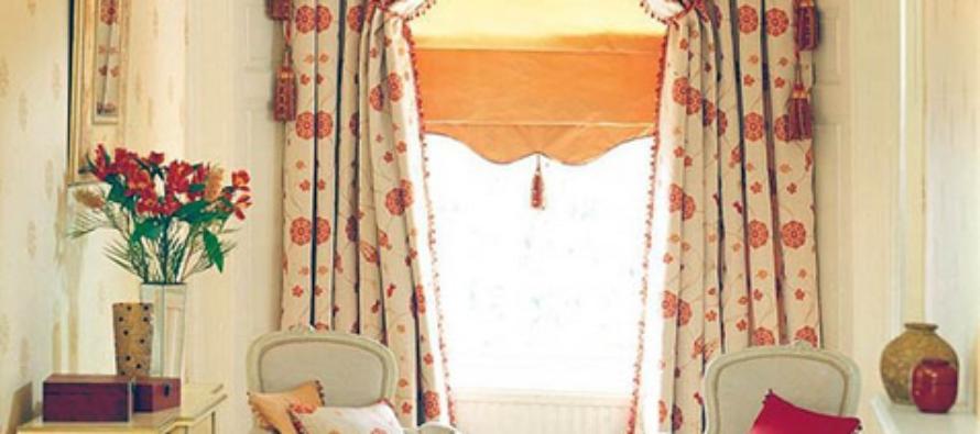 Итальянские шторы в интерьере