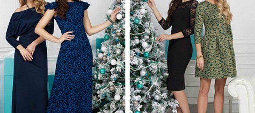 Платья на Новый год 2018: модные фасоны и цвета
