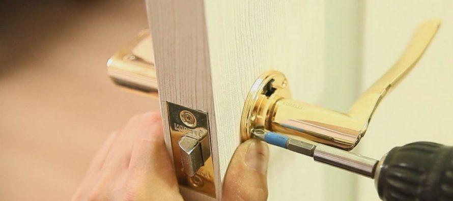 Способы врезки замка в межкомнатную дверь своими руками