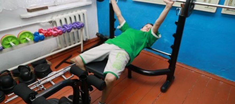 Фонд Александра Прокопьева помог оборудовать спортзал для бийской школы