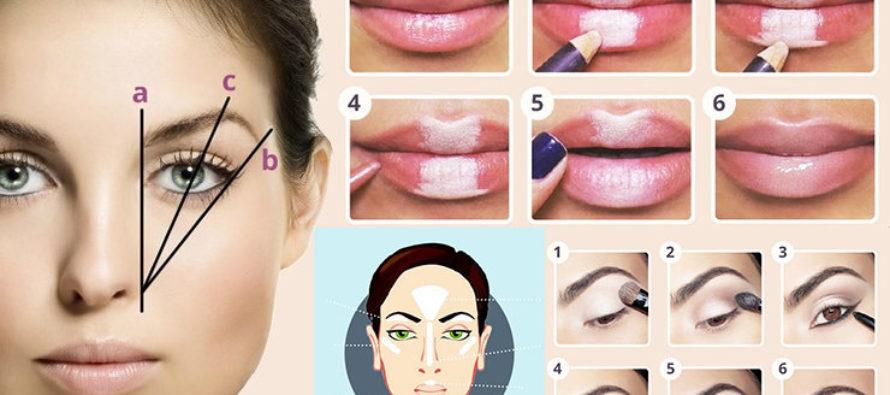 Как научиться делать правильный макияж?