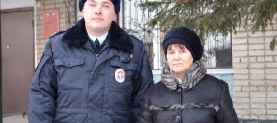 Сотрудник полиции Алтайского края спас женщину и задержал подозреваемого в грабеже