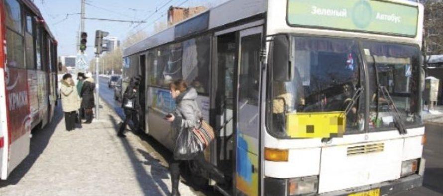 В Барнауле водитель автобуса помог школьнику добраться домой