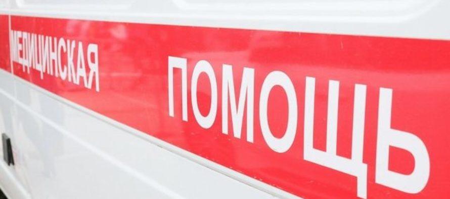 В Барнауле водитель иномарки пострадала в ДТП с грузовиком