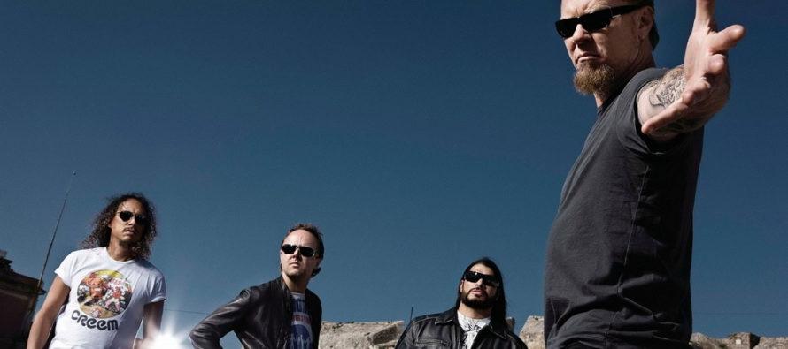 Рок-группа Metallica стала лауреатом «Нобелевской премии по музыке»