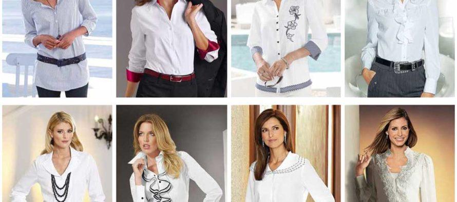 Разновидности женских блузок