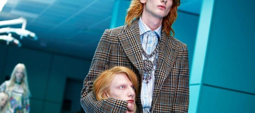 Gucci вывели на подиум моделей с отрезанными головами