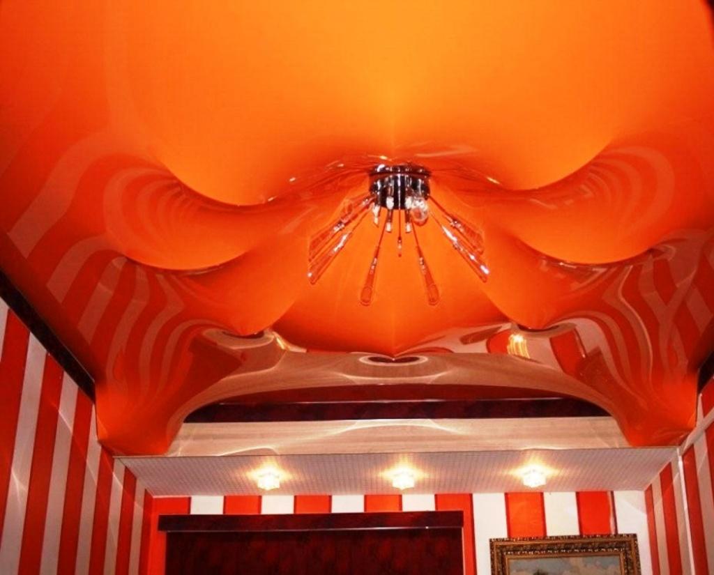 натяжного фото виды новые потолка