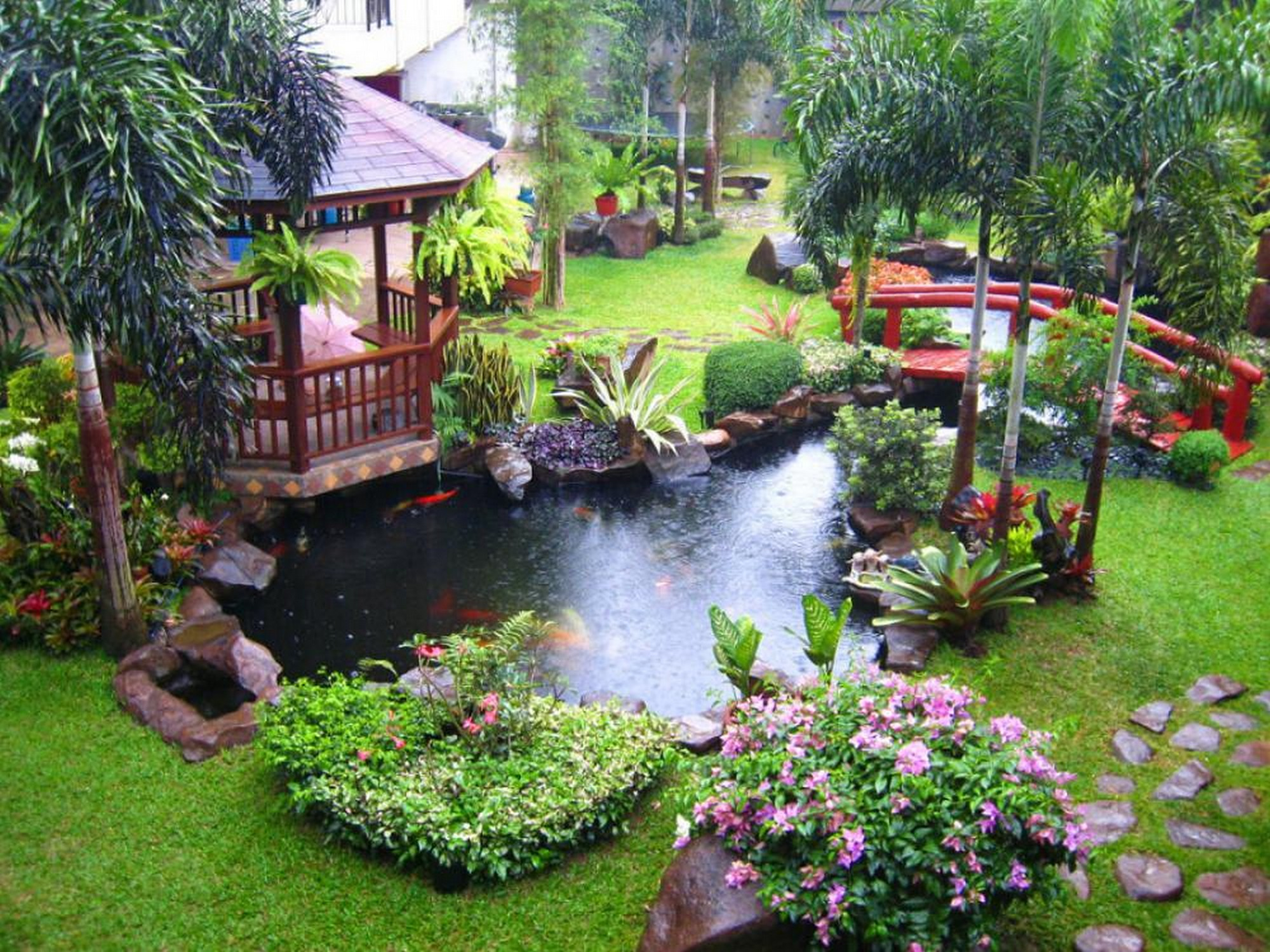 Ландшафт для сада своими руками