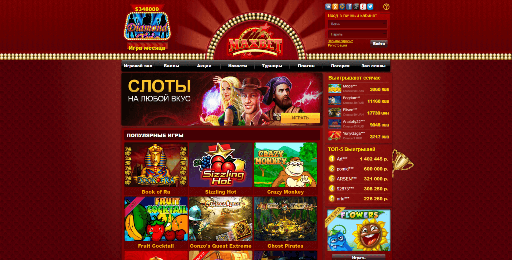 maxbet казино