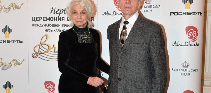 Родители Дмитрия Хворостовского пришли в Большой Театр на премию BraVo