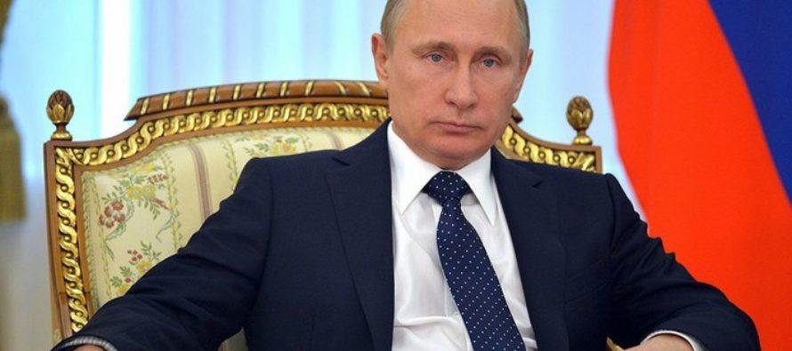 Владимиру Путину продолжают поступать поздравления с победой на выборах-2018