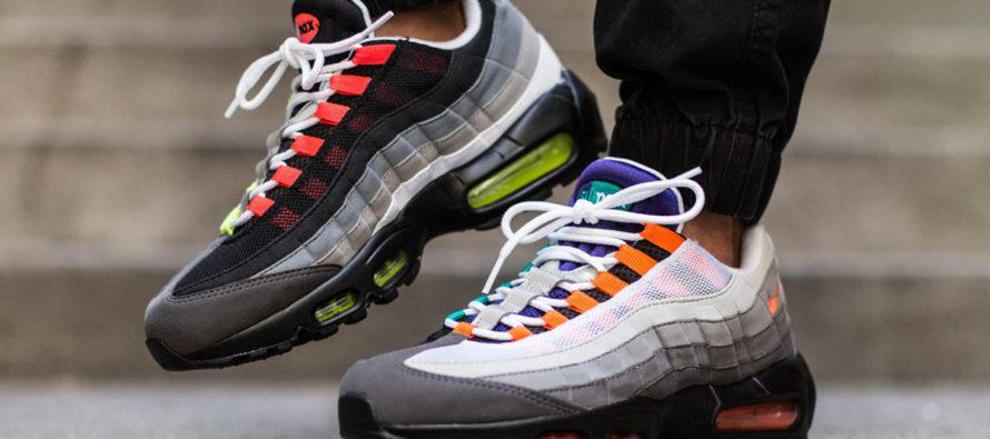 Самые популярные модели беговых кроссовок Найк Аир Макс