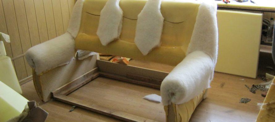 Виды наполнителей для диванов