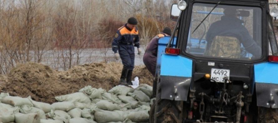 Топчихинский и Тальменский районы продолжают страдать от паводка