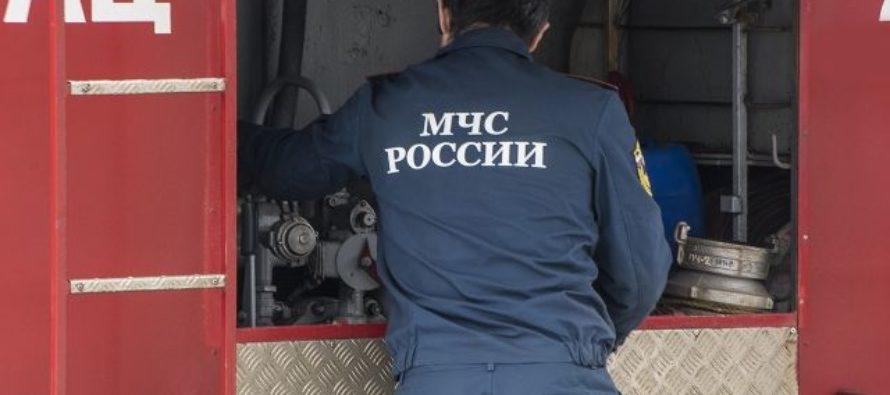 В Барнауле из-за неисправного холодильника загорелся торговый павильон