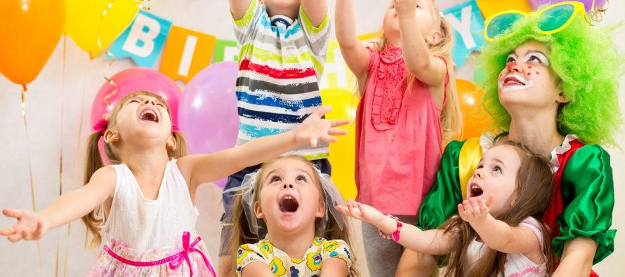 Идеи для организации детских праздников