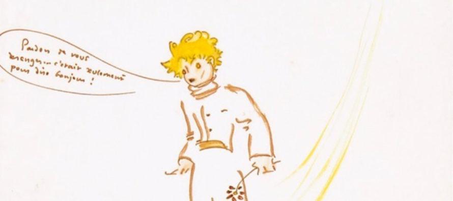 Рисунок Экзюпери с Маленьким Принцем продали с аукциона за 240 тыс. евро
