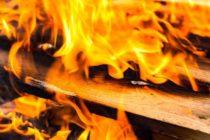 В Алтайском крае сгорело здание сельской администрации