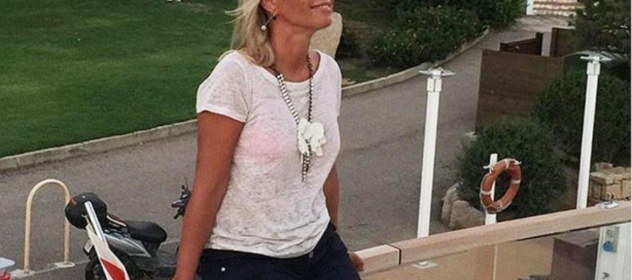 52-летняя Ирина Салтыкова покорила Инстаграм фигурой в сексапильном бикини