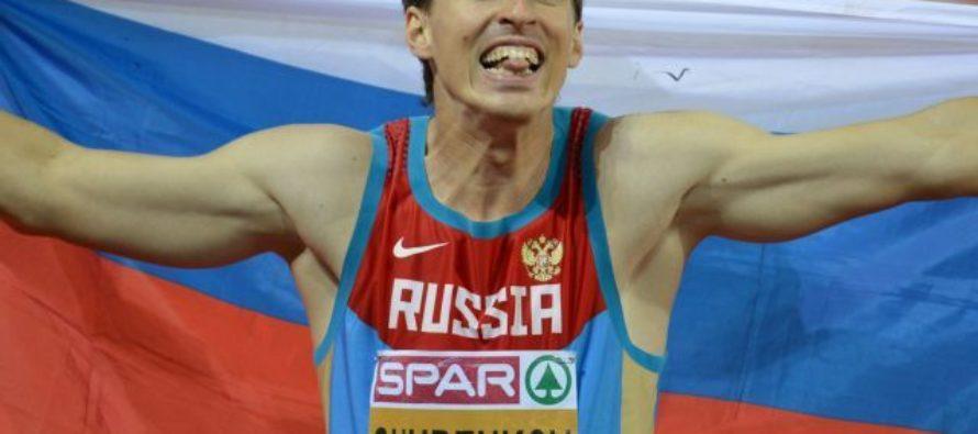 У алтайского легкоатлета Сергея Шубенкова родился сын