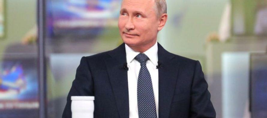 Прошлая прямая линия с Путиным стала самой непопулярной за последние семь лет