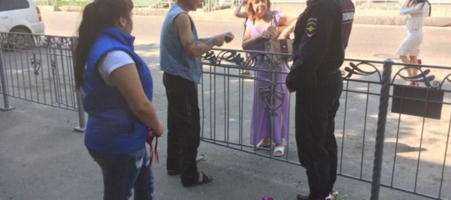 Дружинники помогли полиции задержать гражданина, распивающего алкоголь на улице