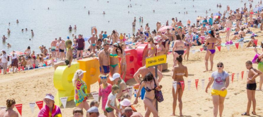 «Однажды в России»: купальщики «распластались звездочкой» на воде Ярового