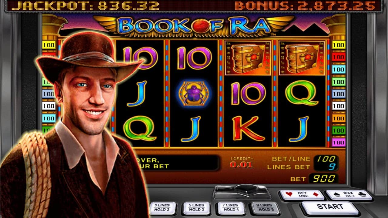 Book a slot machine