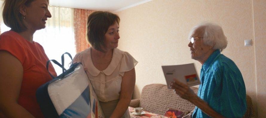 Столетний юбилей отметила жительница Барнаула Ольга Михайлова