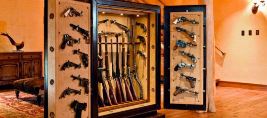 Мебель для хранения оружия: безопасность и удобство